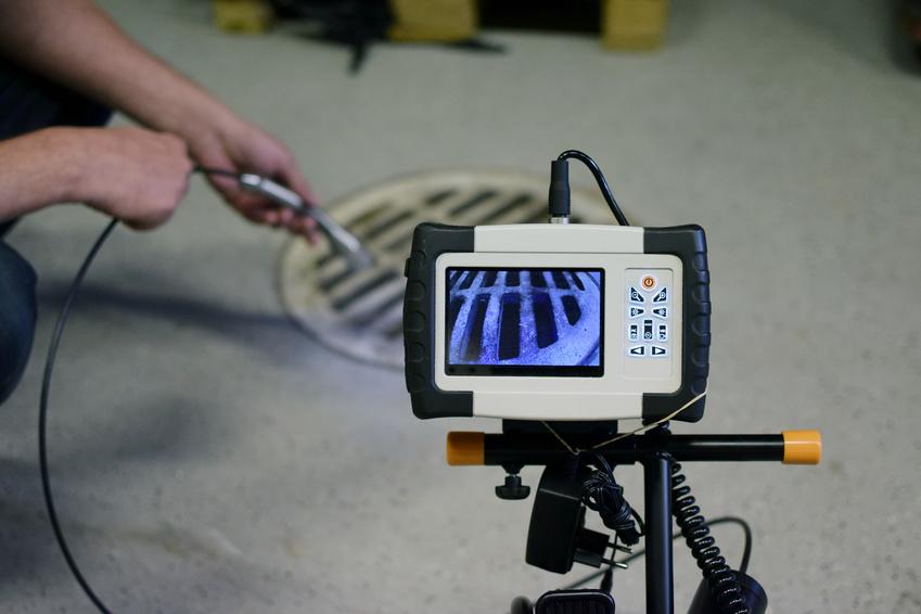 Rohr TV-Untersuchung, Rohrinspektion und Kamerabefahrung